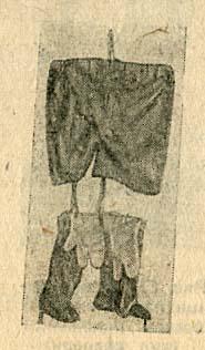Общевойсковой комплект легкой защитной одежды состоит из трусов, защитных чулок и трехпалых перчаток