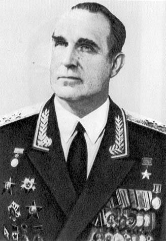 Пикалов В.К. (генерал-полковник) - начальник химических войск 1969-1991 гг.