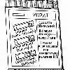ИНДИКАТОРНЫЕ ТРУБКИ, имеющие одинаковую маркировку, укладываются в кассеты по 10 штук. На лицевой стороне кассеты наклеена этикетка с изображением окраски, возникающей на наполнителе трубки при наличии в воздухе ОВ, и указан порядок работы с данной трубкой. В комплект прибора ВПХР входят три комплекта индикаторных трубок